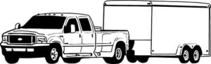 pickup with trailer Commercial Motor Vehicle